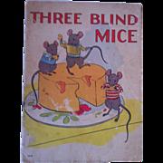 "SALE Vintage 1937 ""Three Blind Mice"" Whitman Publishing Company"