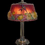 Pairpoint pink hummingbird lamp