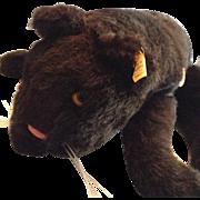Adorable Vintage Stieff Black Cat