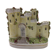 Staffordshire Pastille Burner, Castle Form