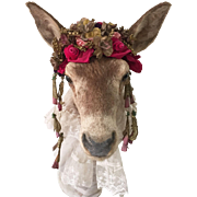 SOLD Enchanting Vintage Taxidermy Deer Head