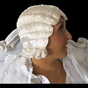 SOLD 1920'S ART DECO FLAPPER HAT HAIR CLOCHE PARIS EVENING WIG BOUDOIR BUST MANNEQUIN