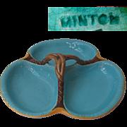 Antique Majolica Dish signed Minton 19th Century era