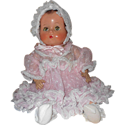 """SALE Beautiful Vintage 19""""  Unmarked Arranbee Composition and cloth Little Angel, Baby Do"""