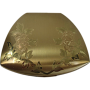 SOLD Gorgeous Elgin American Floral Compact