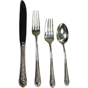 SALE Towle 1935 Royal Windsor 6 Place Setting Luncheon Set Sterling Flatware Set