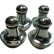 Shreve & Co. San Francisco Sterling Salt and Pepper Shakers
