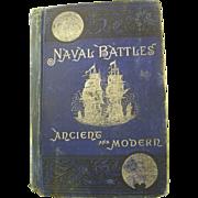 Naval Battles Ancient & Modern by Shippen  1883