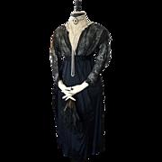 Titanic Era Evening Gown, Antique Gown, Antique Dress, Edwardian Dress, Titanic Period, Evenin