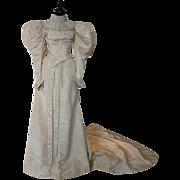 Wedding Gown, Bridal Gown, Victorian Dress, Antique Dress, Antique Gown, New York, ca. 1895