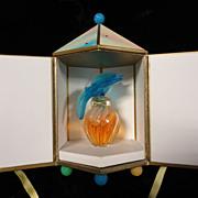 Nina Ricci L'Air Du Temps Blue Doves w/ Carousel Case
