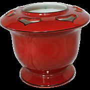 Burleigh Ware Art Nouveau Heart Vase England 1930's