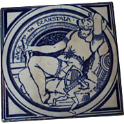Minton Jack and the Beanstalk Fairy Tile, England 1873 - 74