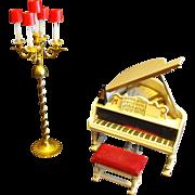 SALE Ideal Petite Princess Fantasy Furniture Piano Music Room