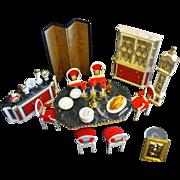 SALE Ideal Petite Princess Fantasy Doll Dining Room Furniture