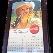 Coca-Cola Cowboy Advertising Poster
