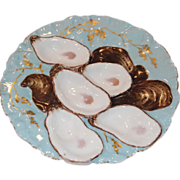 Haviland & Company Limoges 5-well Turkey Oyster Plate