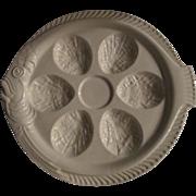 Erphila Czech Fish Shape Oyster plates (set of 4)