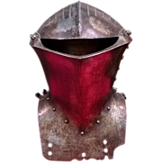 19th Century Frog Mouth Armor Jousting Helmet