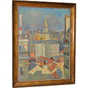 SOLD Buckley MacGurrin (1896-1971) Original Paris Oil Painting c.1928