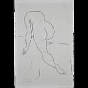 REDUCED Edward Hagedorn (1902-1982) Original Pen & Ink c.1960's