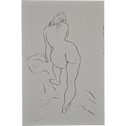 REDUCED Vintage Figural Nude Study by Hagedorn c.1960's