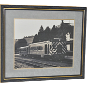 REDUCED Ligonier Valley Railroad Vintage Framed Print c.1950