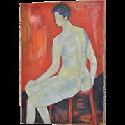 Carmine Sena Minimalist Nude c.1960