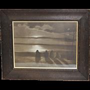 "SOLD Lehnert and Landrock Photograph ""Tunis"" c. 1900"