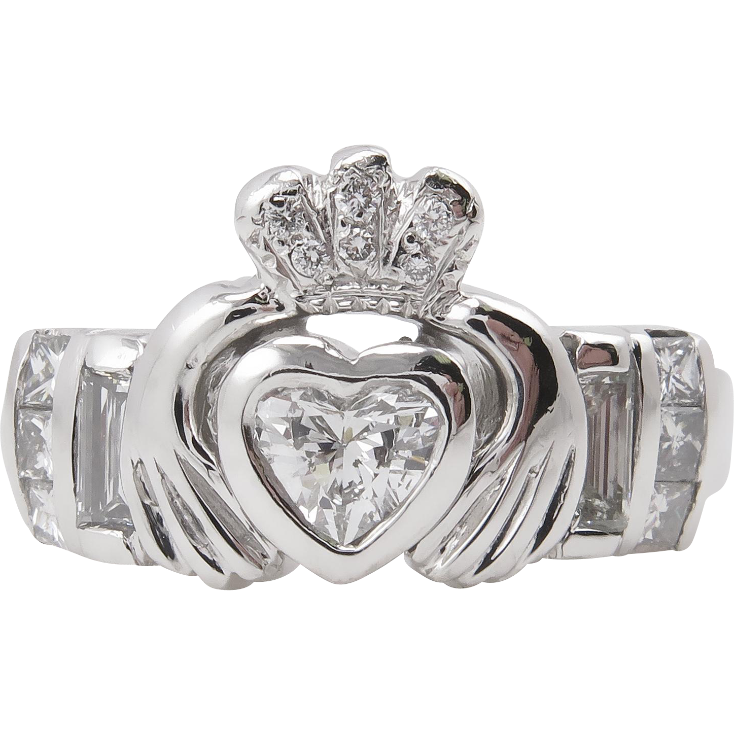 claddagh engagement ring - photo #15