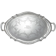 Tiffany & Co. Sterling silver Twin handled tray / waiter