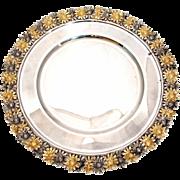 SALE Italian Silver Buccellati Style Serving Platter