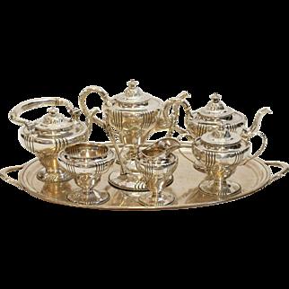 SALE Dominick & Haff Sterling Silver Tea Service