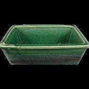 Vintage Mccoy Green Planter