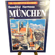 Munchen- The beautiful Hermosa- 135 Colorfotos Souvenir.