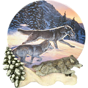 """The Hamilton Collection """"Free as the Wind"""" Collectible Plate"""
