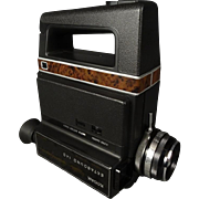 Kodak Ektasound 140 Movie Camera with Carrying Case c 1970s