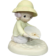 """Enesco Precious Moments """"You're One In A Million To Me"""" Ceramic Figurine"""