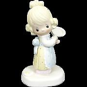 """Enesco Precious Moments """"Eggs Over Easy"""" Ceramic Figurine"""