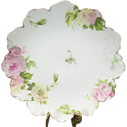 Rosenthal Malmaison Hand-Panted Decorative Plate