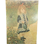Pierre Auguste Renoir Reproduction Painting of Girl with Watering Pot