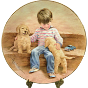 "The Hamilton Collection ""Best Buddies"" Collectors Plate"