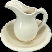 McCoy Pottery USA Pitcher & Basin
