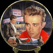 """The Hamilton Collection """"James Dean"""" Collectible Plate"""