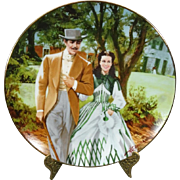 """W.S. George """"Home To Tara"""" Gone With the Wind Collector's Plate"""
