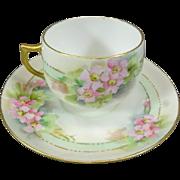 Porzellanfabrik Jaeger & Co. Teacup and Saucer
