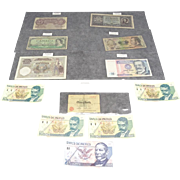 Collection of Assorted International Bank Notes
