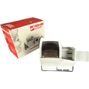 GAF Pana-Vue Automatic Slide Viewer in original box.