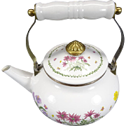 Vintage Lincoware Teapot With Lid And Handle