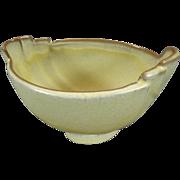 "Frankoma Mayana-Aztec Desert Gold Pattern 7 6"" Oval Serving Bowl c. 1950's"